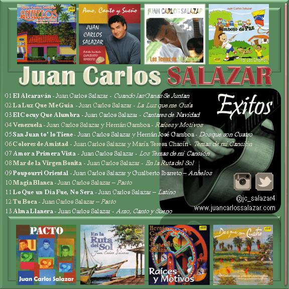 Juan Carlos Salazar - Exitos B-min