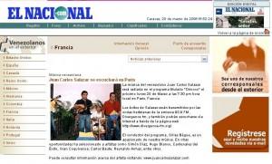 Juan Carlos Salazar El Nacional