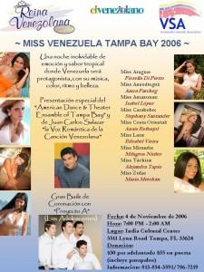 Miss Venezuela Tampa Bay 2006