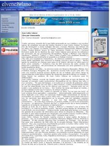 El Venezolano Septiembre 2006