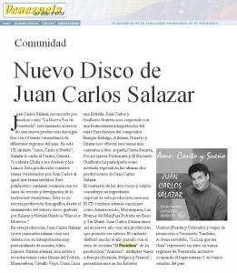 JCS Venezuela al Dia Marzo06
