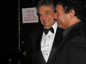 Con Jose Jose en la Gala Dorada, Orlando, FL